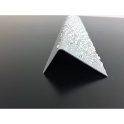 Cornière Agrain® Inox 0,8mm