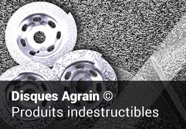 Découvrez les produits disques Agrain indestructibles de MGS Industries